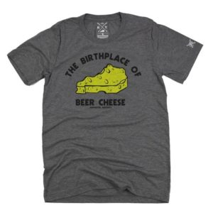 birthplace of beer cheese t-shirt shop local ky