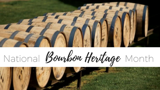national heritage bourbon month
