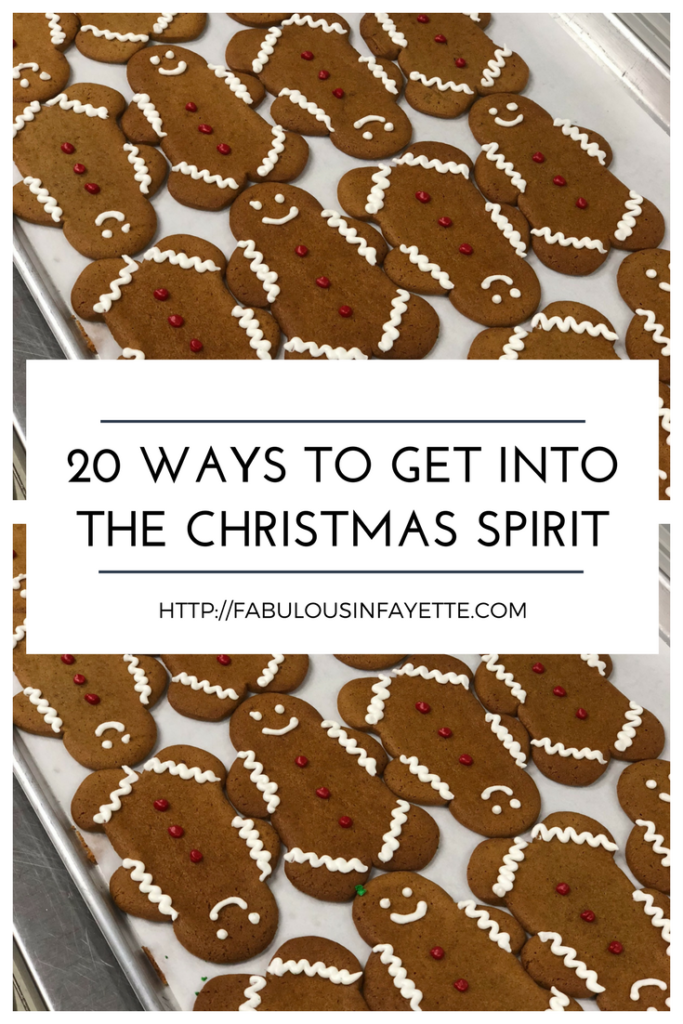 20 ways to get into the christmas spirit
