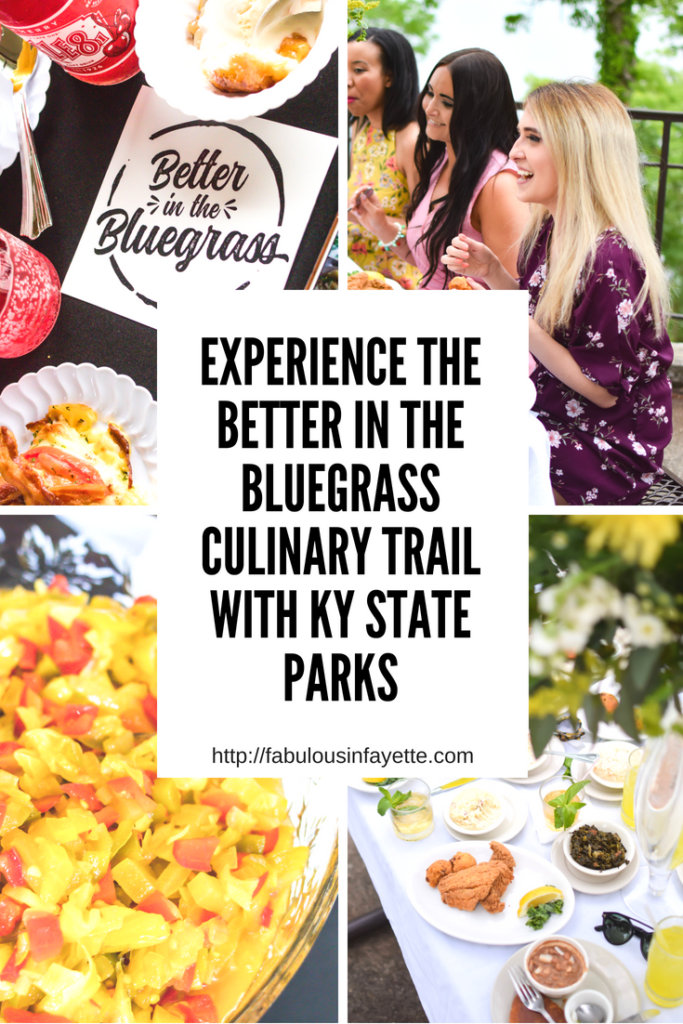 Kentucky has tons of one-of-a-kind restaurants and chefs that specialize in local ingredients and distinctive cuisine. Enter the brand new culinary tourism initiative named Better in the Bluegrass, which will offer nine regional signature meals. Kentucky is sure to be put on the map and known to others now that Kentucky is hosting the 16th season of Top Chef. #betterinthebluegrass #tasteky #travelky #kystateparks #sharethelex #lexingtonky #kentucky #food #southern
