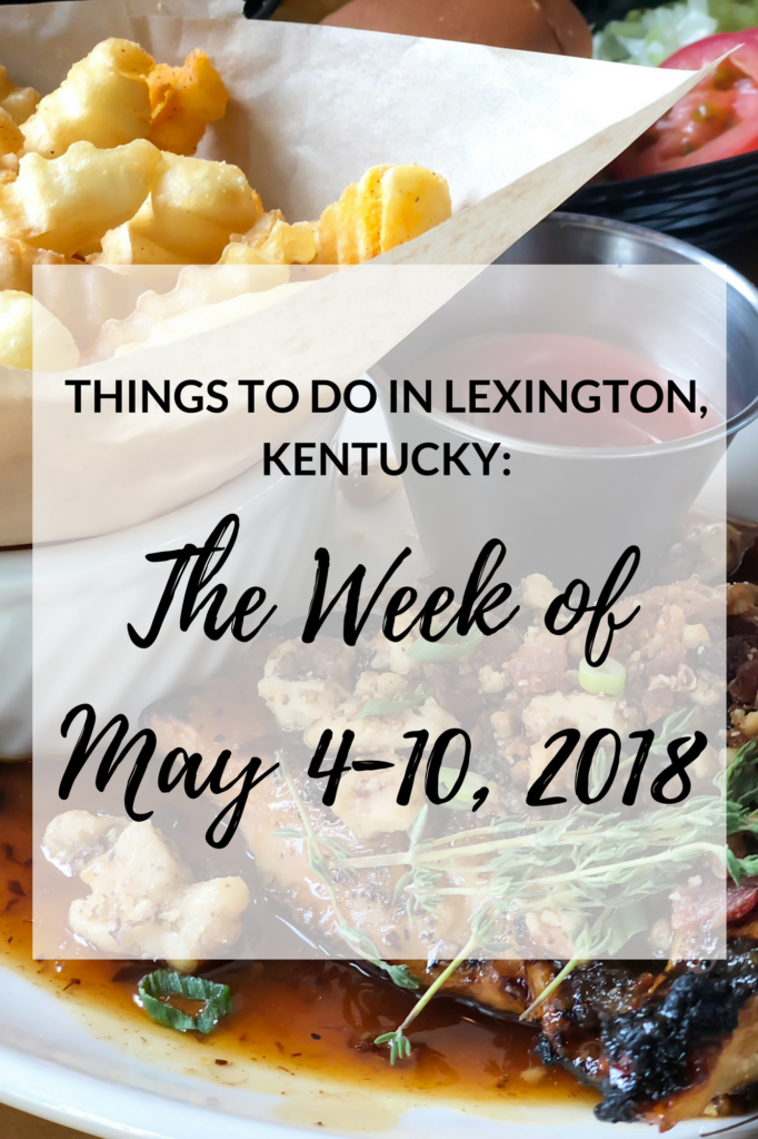 This is a pretty exciting weekend for us Kentuckians!! Today is Oaks Day and Saturday is the Kentucky Derby! I've included several events that will hopefully keep everyone entertained in the upcoming week! #sharethelex #lexingtonky #visitlex #travelky #kentucky