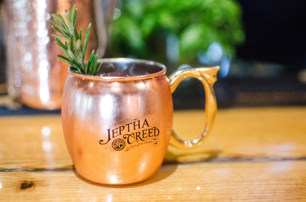 "Jeptha Creed hosted a very special event that was only for bloggers and influencers called the ""Ground to Glass"" Cocktail Class. This class was super unique in that we got to tour the farm and hand-pick our ingredients for the cocktails that we were going to make later that night. #travelky #kentucky #visitshelbyky #tasteky #jepthacreed #jepthacreedgroundtoglass"