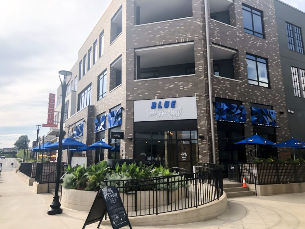 Blue Sushi Sake Grill is a great place to enjoy old favorites or embark on a dining adventure. It's the ultimate sushi destination for sushi experts and newcomers. Blue Sushi Sake Grill has everything from traditional and creative maki, sashimi and nigiri, as well as vegan maki. #sharethelex #lexingtonky #kentucky #sushi #food #tasteky #eatkentucky #eatlexington #betterinthebluegrass #thesummitatfritzfarm