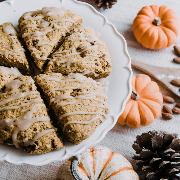 fall food flatlay
