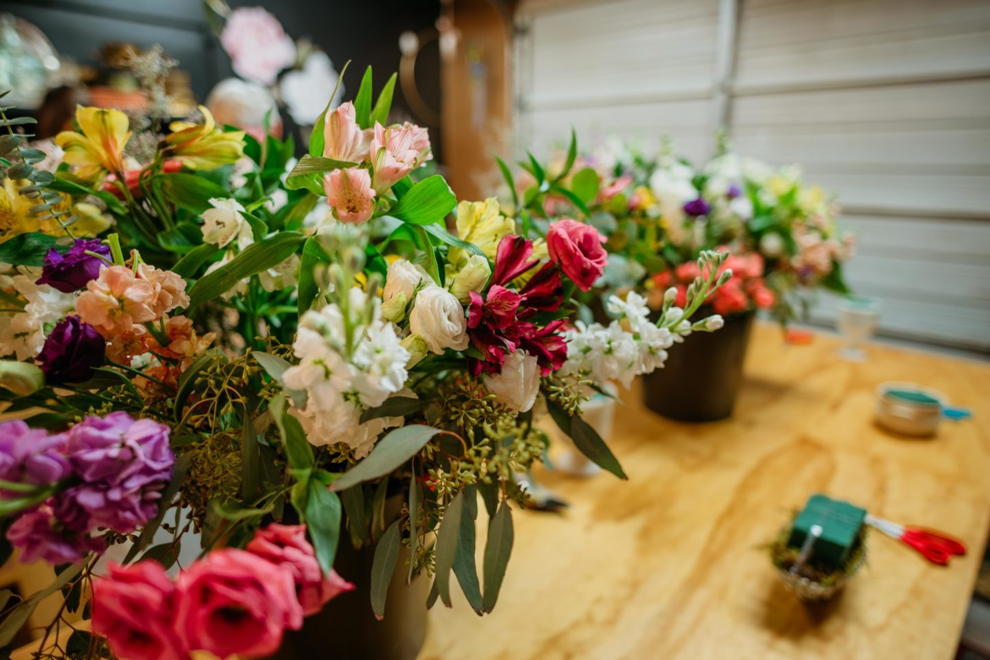 flowers and blooms on a table