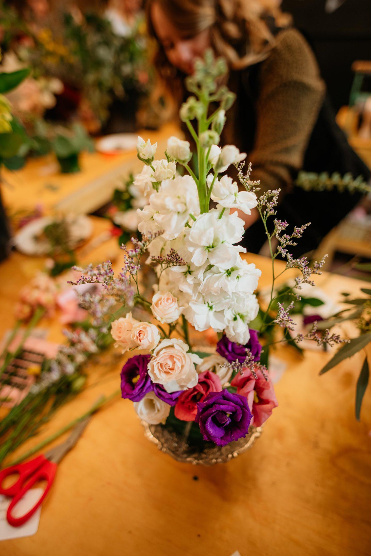 flower making workshop