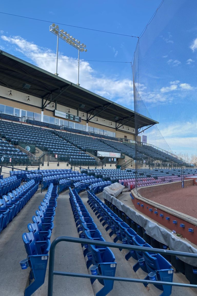 seating inside of a ballpark
